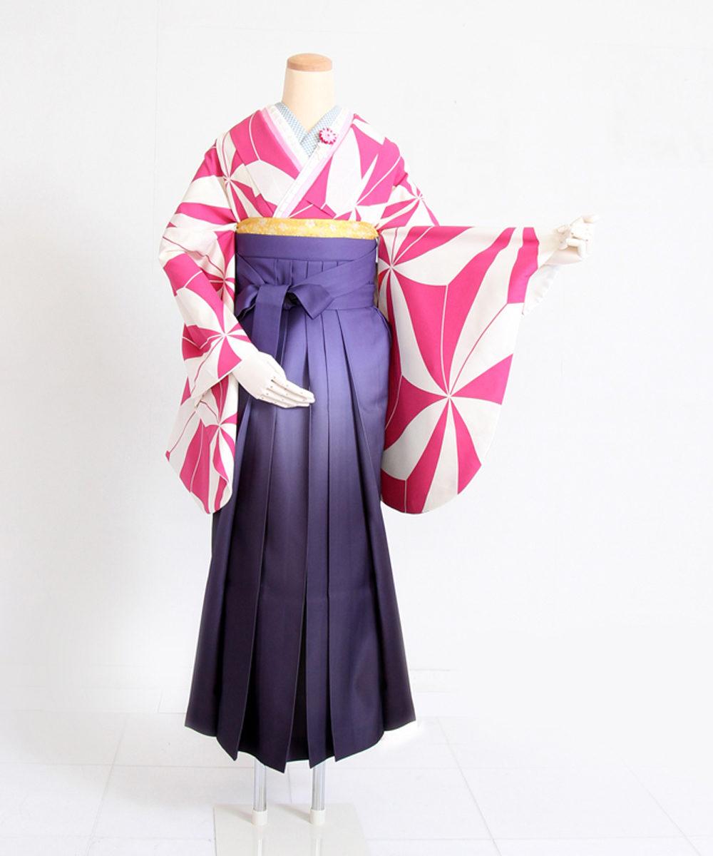 【卒業袴】女の子らしさも◎レトロモダン☆ピンクあさのは